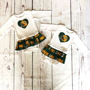 Packers baby Outfit